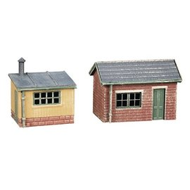 Ratio Ratio Accessories 237 Lineside Huts (Gauge N)