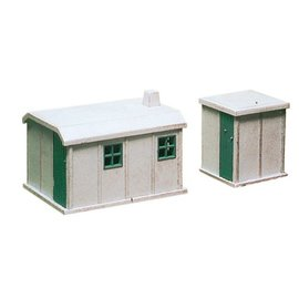 Ratio Ratio Accessories 238 Concrete Huts (Gauge N)