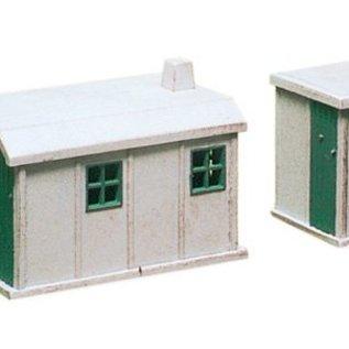 Ratio Ratio Accessories 238 betonnen hutjes (schaal N)