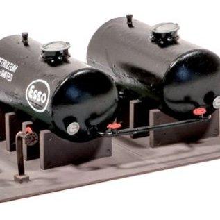Ratio Ratio Lineside 530 olie tanks (schaal H0/00)