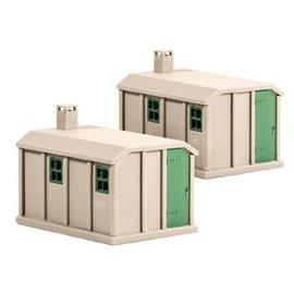 Ratio Ratio Lineside 518 betonnen hutjes (schaal H0/00)