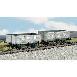 "Ratio Ratio Rolling Stock 576 LMS Kohlewagen Set ""4 Plank Wagons"" (Spur H0/00)"