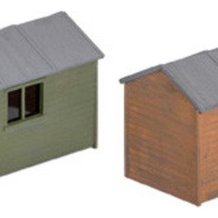 Wills Wills Scenic Series SS58 houten tuinschuurtjes (schaal H0/00)