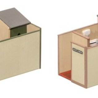 Wills Wills Scenic Series SS65 herentoiletten (schaal H0/00)