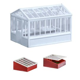 Wills Wills Scenic Series SS20 Greenhouse + Cold Frames (Gauge H0/00)