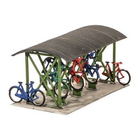 Wills Wills Scenic Series SS23 Bicycle Shed + Bikes (Gauge H0/00)