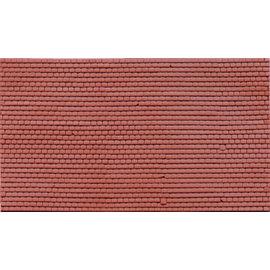 Wills Wills Materials Sheets SSMP211 zelfbouwplaat vlakke dakpannen (schaal H0/00)