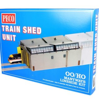 Peco Peco LK80 Moderner Lokschuppen (Spur H0/00)