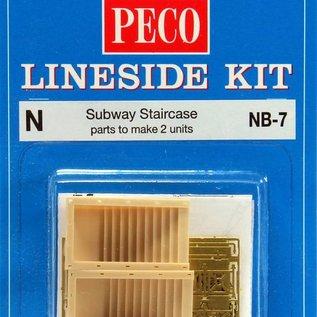 Peco Peco NB-7 Metro trappen (schaal N)