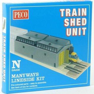 Peco Peco NB80 Train Shed Unit (Gauge N)