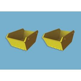 Modelscene Modelscene 5188 twee Puincontainers (schaal N)