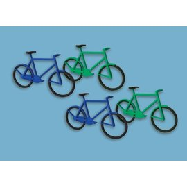 Modelscene Modelscene 5189 Bicycles (12) (Gauge N)