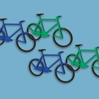 Modelscene Modelscene 5189 Fahrräder (12) (schaal N)