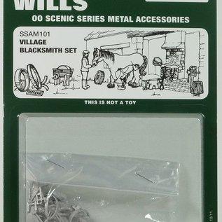 Wills Wills SSAM101 Smidse accessoires (schaal H0/00)