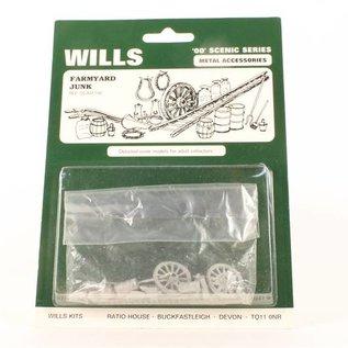 Wills Wills SSAM100 Bauernhof Aussmückungsteile (Spur 00/H0)