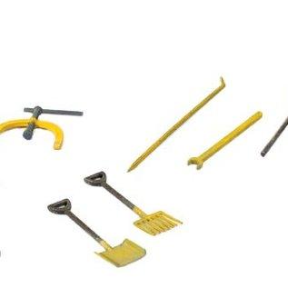 Peco Peco LK758 Gleisbauarbeiter Werkzeuge (Spur 0)