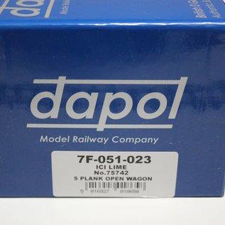 "Dapol Dapol 7F-051-023 ""5 Plank Open Wagon"" (Spur 0)"