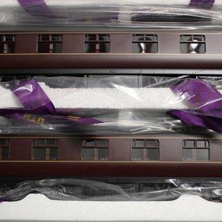 """MTH MTH 22-60050 BR """"4-Car LMS Standard Passenger Set, Maroon""""  (gauge 0)"""