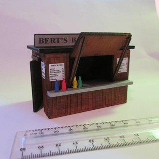 Brikho Brikho OBRAMKI01 Imbißstand/Kiosk (Baugröße 0, Lasercut)