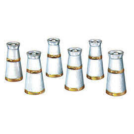 Peco Peco LK-751 melkkannen wit metaal (schaal 0)
