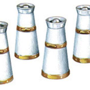 Peco Peco LK751 Milk Churns Cast White Metal (Gauge 0)