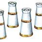 Peco Peco LK751 melkkannen wit metaal (schaal 0)