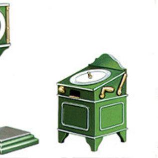 Peco Peco LK755 Fahrkartenmachine + Waage Weissmetall (Spur 0)