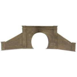 Peco Peco LK731 Tunnel Mouth & Walls Stone Type Single Track (Gauge 0)