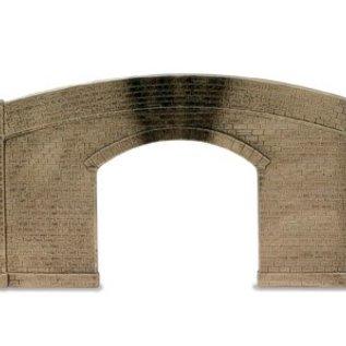 Peco Peco LK733 Road Bridge Sides & Walls Stone Type Single Track (Gauge 0)