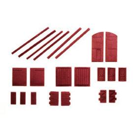 Ratio Ratio Trackside Series 311 deuren/poorten (schaal N)
