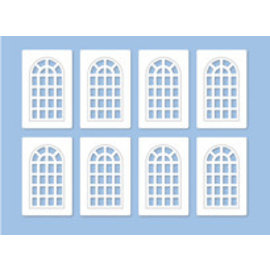 Ratio Ratio Lineside 523 Industrial Windows (Gauge H0/00)