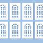 Ratio Ratio Lineside 523 industriële ramen (schaal H0/00)