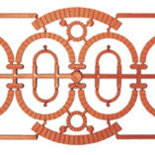 Ratio Ratio Lineside 521 rollagen voor 523 industriële ramen (schaal H0/00)