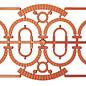 Ratio Ratio Lineside 521 Steinbogen für 523 Industrie Fenster (Spur H0/00)