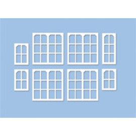 """Ratio Ratio Lineside 539 """"Midland"""" Signal Box Window Moldings (Gauge H0/00)"""