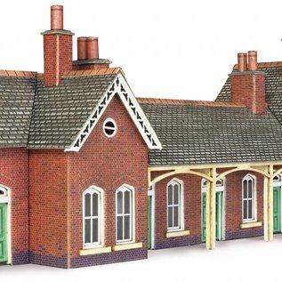 Metcalfe Metcalfe PN137 Landelijk station met wachthuisje (N Schaal)