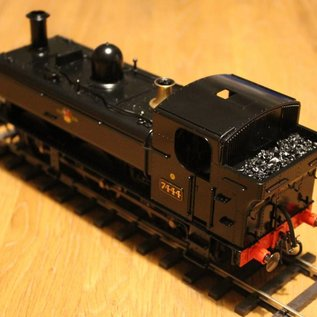 Dapol Dapol 7S-025-002 Steam Locomotive Class 74XX Pannier BR Black Late Crest (gauge 0)