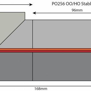 Metcalfe Metcalfe PO256 Stable Block (gauge H0/OO)