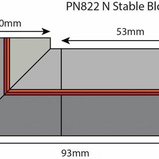 Metcalfe Metcalfe PN822 Paardenstal (schaal N)
