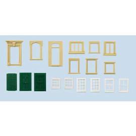 Wills Wills Scenic Series SS42 Fenster und Türen (Spur H0/00)