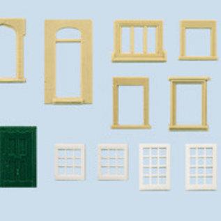 Wills Wills Scenic Series SS42 ramen en deuren (schaal H0/00)