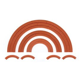Wills Wills Scenic Series SS55 Brick arch overlays (Gauge H0/00)