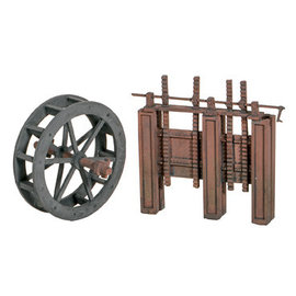 Wills Wills Scenic Series SS84 Water Wheel & Sluice Gates (Gauge H0/00)