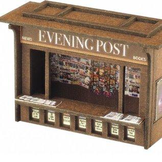 Metcalfe Metcalfe PN817 Perron kiosk (Schaal N, Karton)
