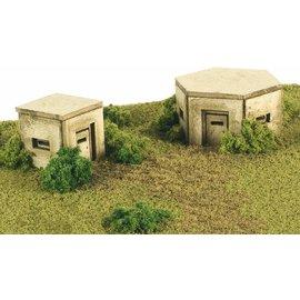 Metcalfe Metcalfe PN820 2 Bunkers (Schaal N)