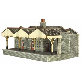 Metcalfe Metcalfe PN921 Parcels Office & Waiting room (Gauge N)