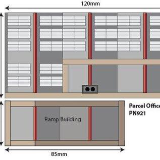 Metcalfe Metcalfe PN921 Pakketshop & wachtruimte (Schaal N, Karton)