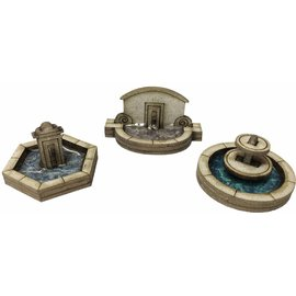 Metcalfe Metcalfe PN823 Stone Fountain Set (Gauge N)