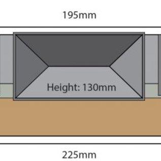 Metcalfe Metcalfe PN179 Winkel in halfreliëf (schaal N)