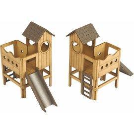 Metcalfe Metcalfe PO513 Childrens Playground (Gauge H0/00)